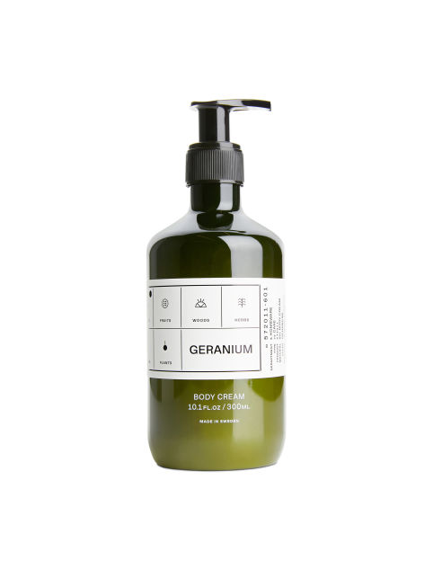 Body Cream Geranium, 300 ml