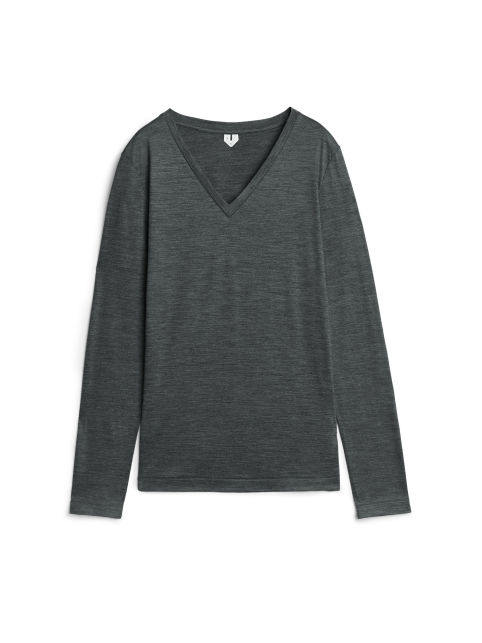 V-Neck Merino Long-Sleeve
