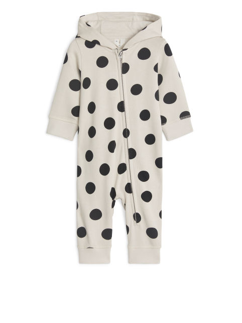 Organic Cotton Hooded Overall