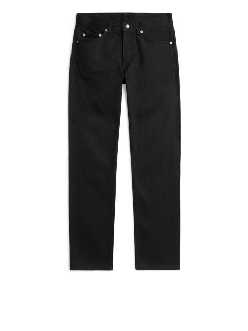 REGULAR Black Selvedge Jeans