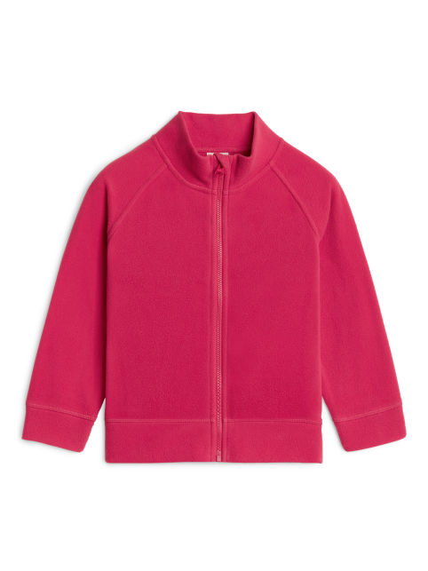 Fleece Zip Cardigan