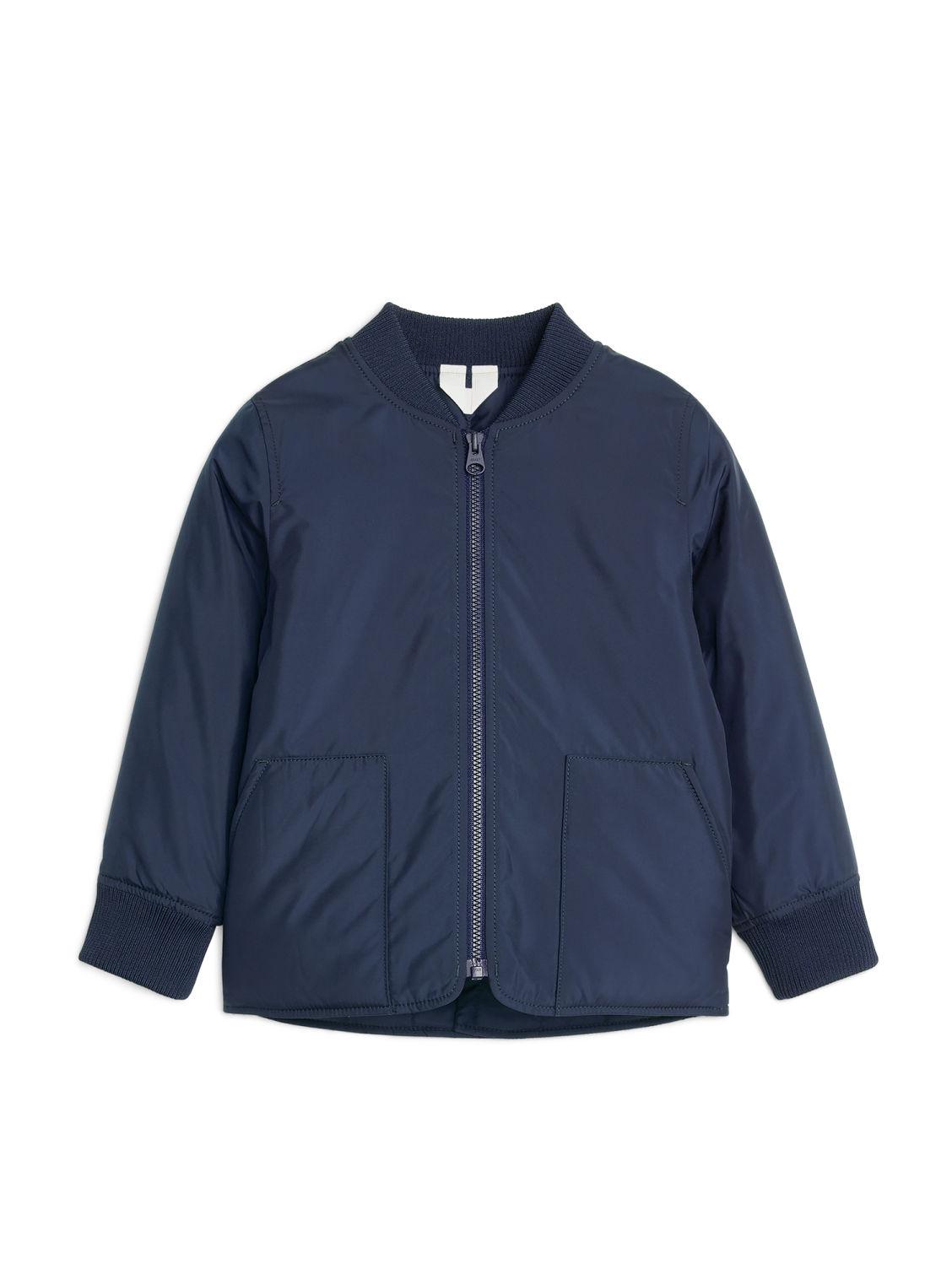 Padded Liner Jacket - Blue - Jackets & Coats - ARKET