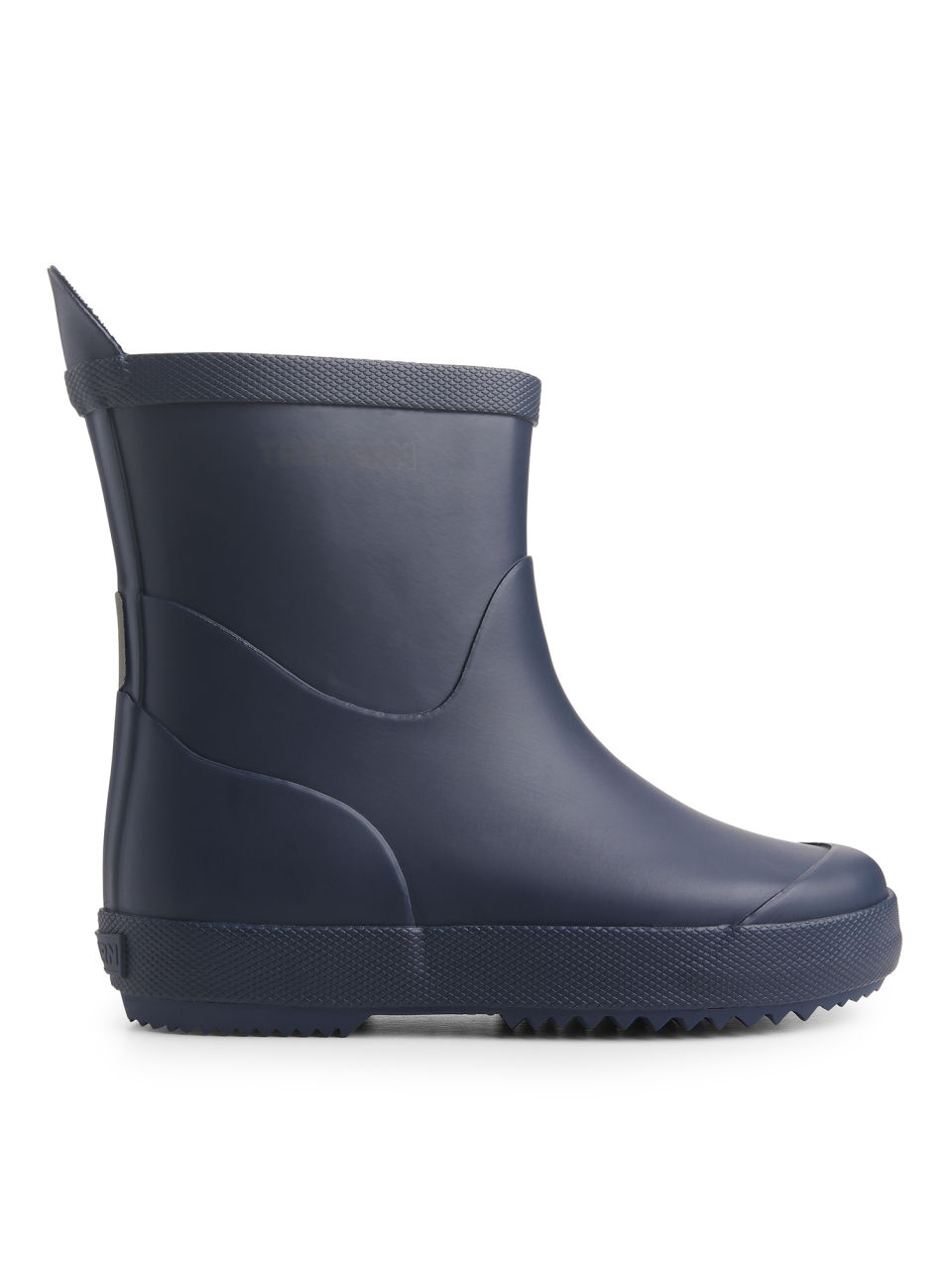 Front image of Arket tretorn wings rubber boots in blue
