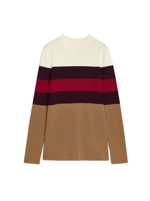 Merino Colour-Blocking Jumper