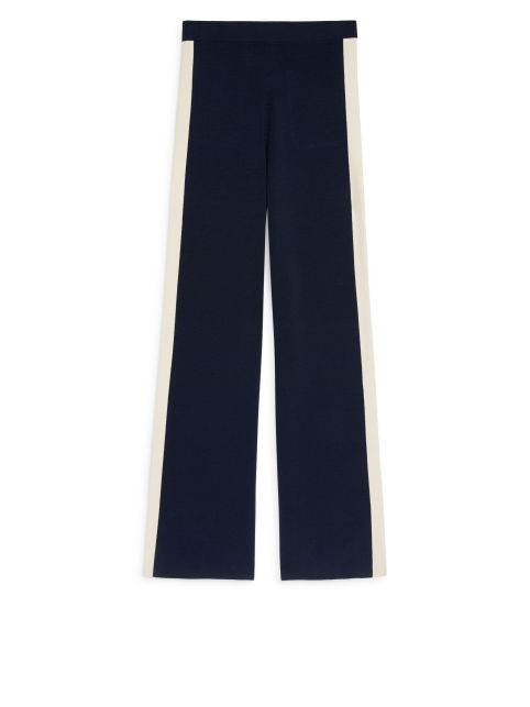Wide Merino Trousers