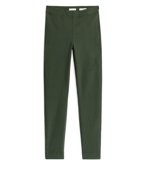 Stretch Scuba Slim-Fit Trousers