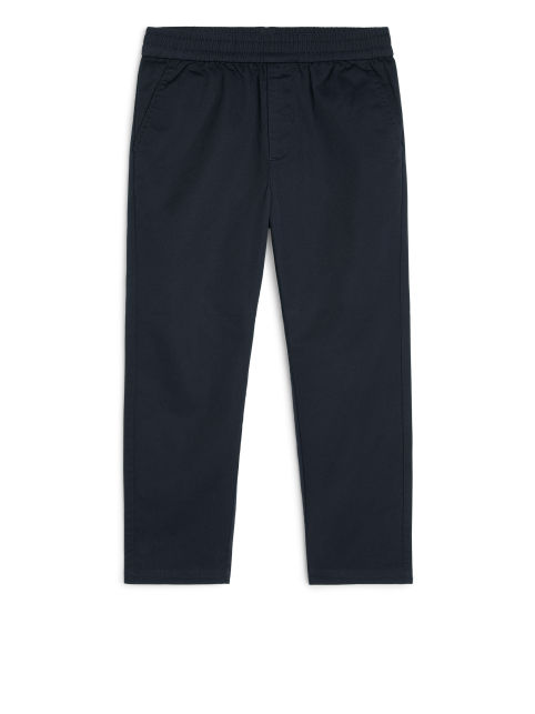Relaxed Twill Joggers