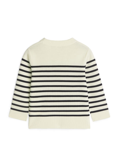Striped Organic Merino Jumper