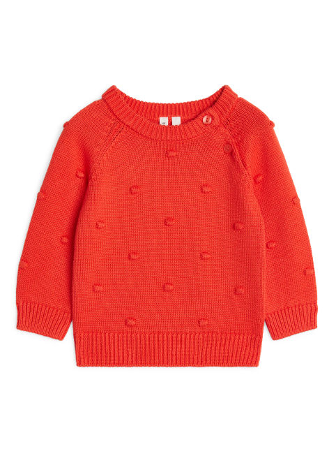 Cotton Popcorn Jumper