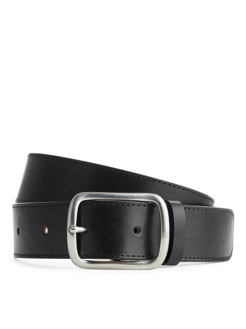 Flat Leather Belt