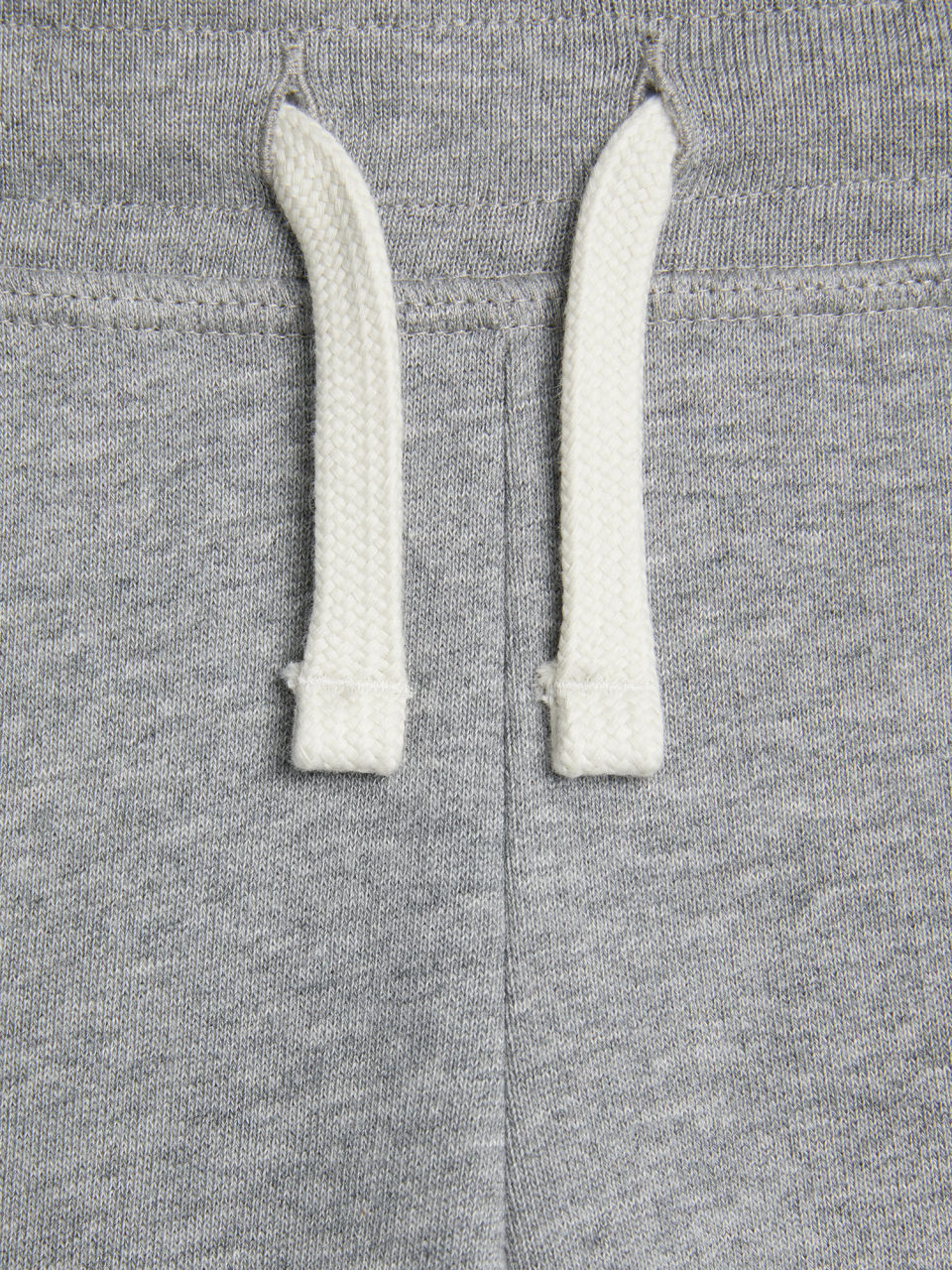 Side image of Arket french terry sweatpants in grey