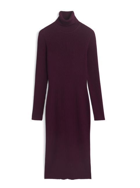 Merino Roll-Neck Dress