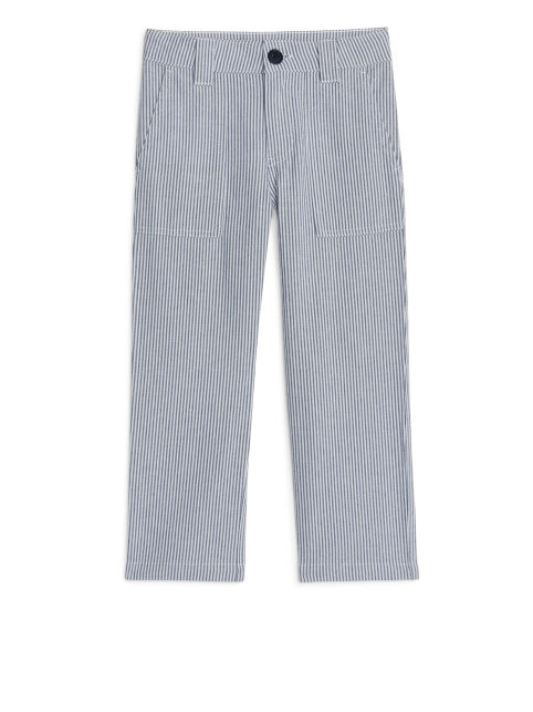 Seersucker Workwear Trousers