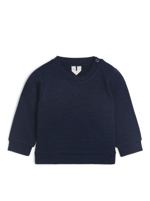 Merino Wool Sweatshirt