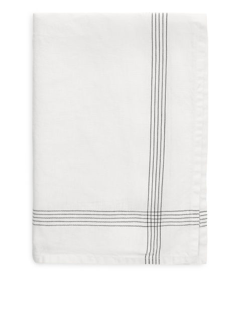 Linen Check Tea Towel