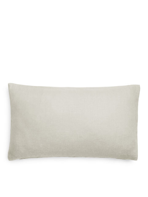 Linen Lumbar Cushion Cover