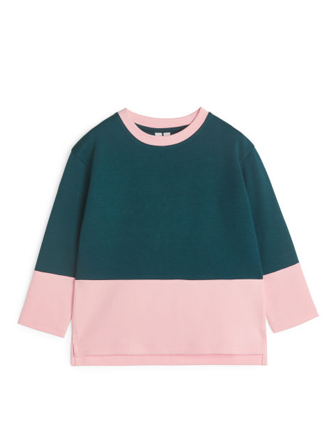 Cotton Jersey Long-Sleeve