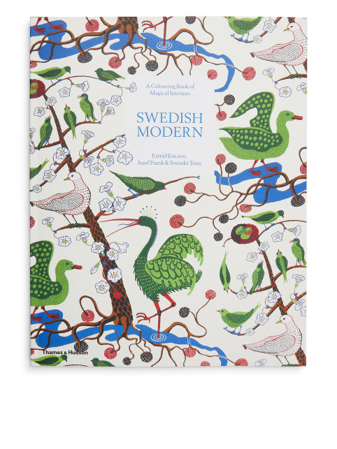 Swedish Modern A Colouring Book of Magical Interiors