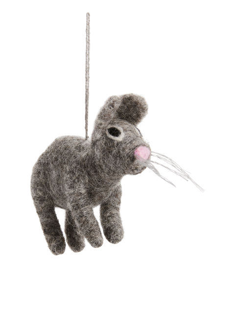 Felt So Good Grey Bunny