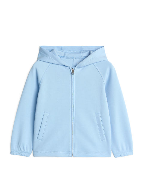Sports Hooded Zip Cardigan