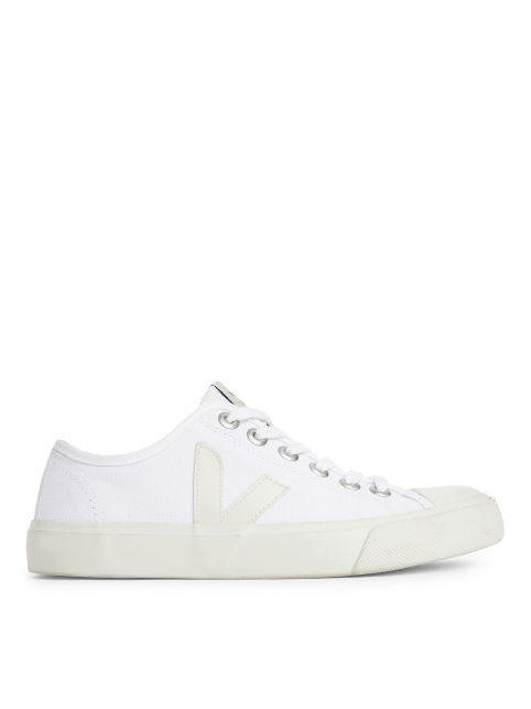 Front image of Arket veja wata trainers in white