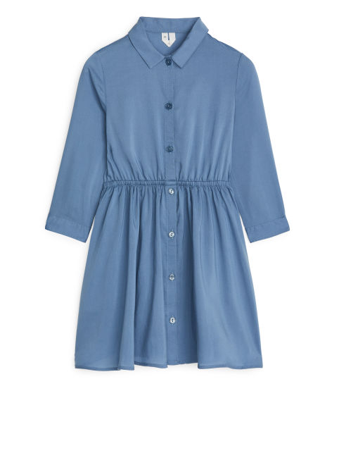 Lyocell Shirt Dress