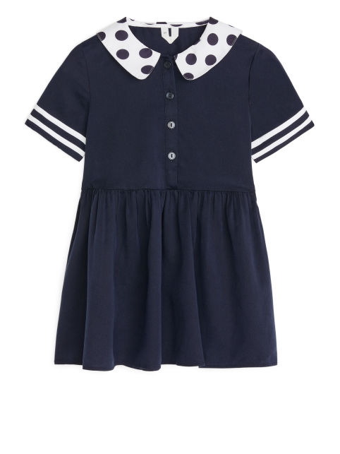 Lyocell Sailor Dress