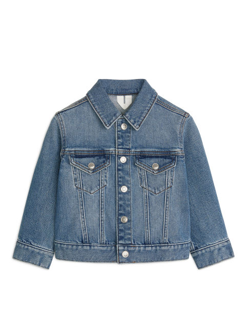 Stretchy Denim Jacket