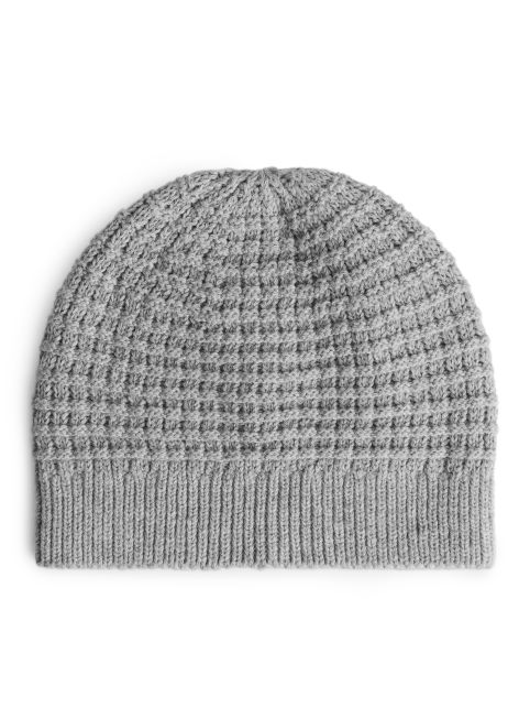 Cotton Waffle Beanie