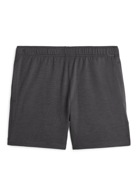 French Terry Merino Shorts