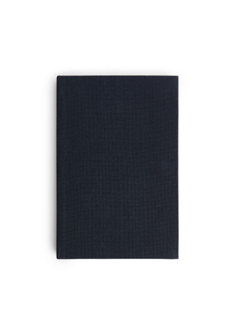 Textile-Cover Notebook Small