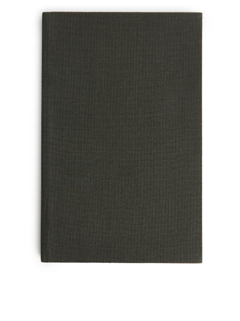 Textile-Cover Notebook Medium