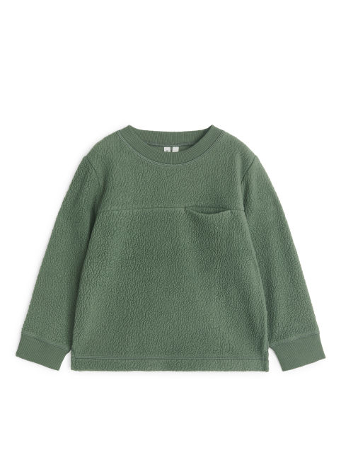 Pile Fleece Sweatshirt