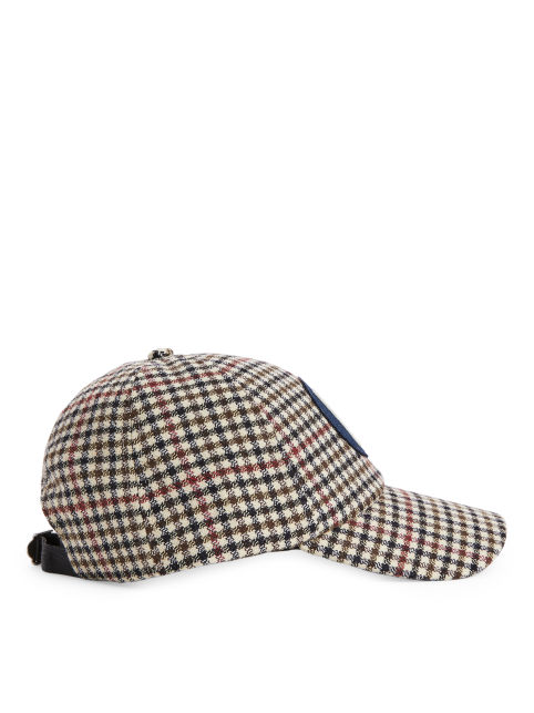 Dogtooth Check Cap
