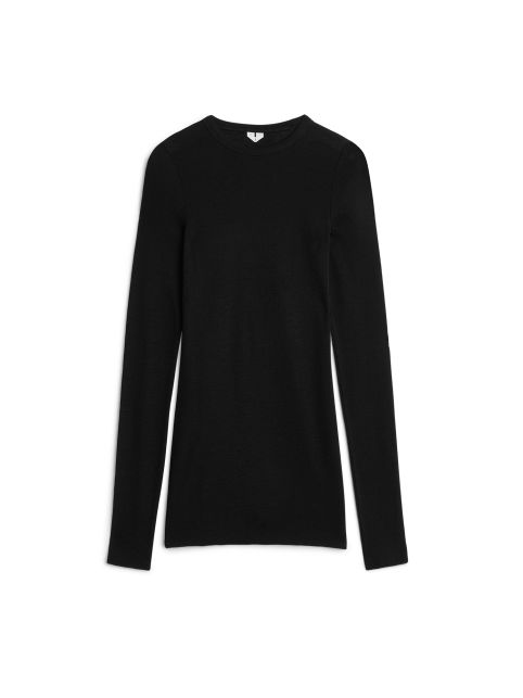 Long-Sleeved Merino Top