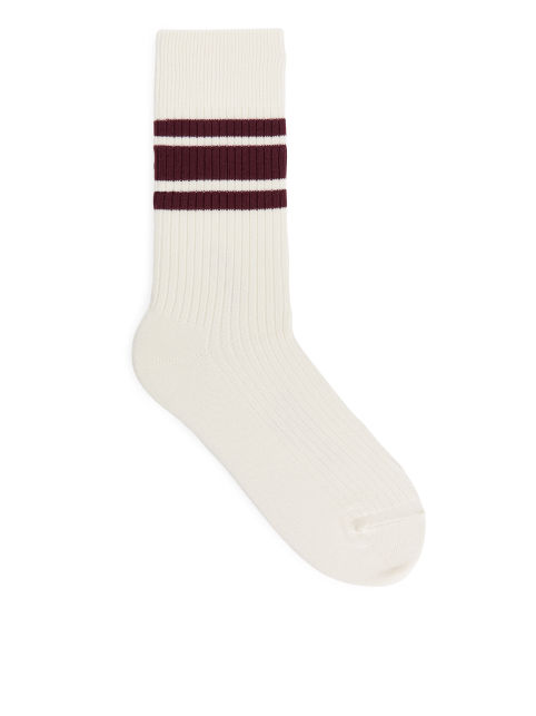 Supima Cotton Rib Socks