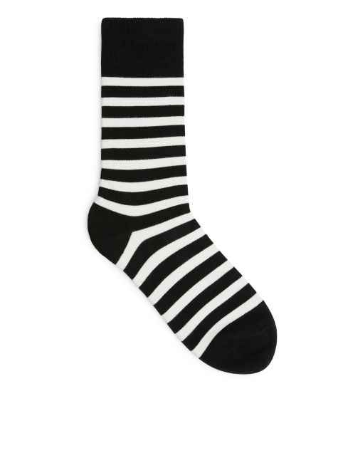 Striped Supima Cotton Socks
