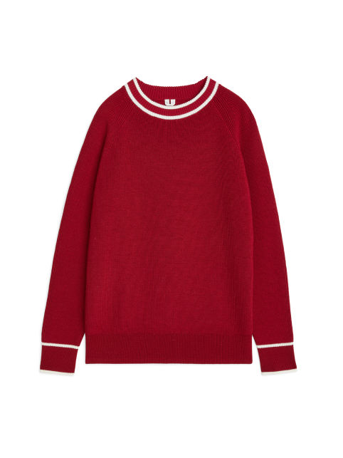 Cotton Wool Crew-Neck