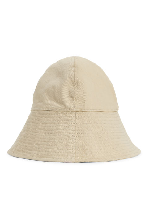 Wide-Brim Bucket Hat