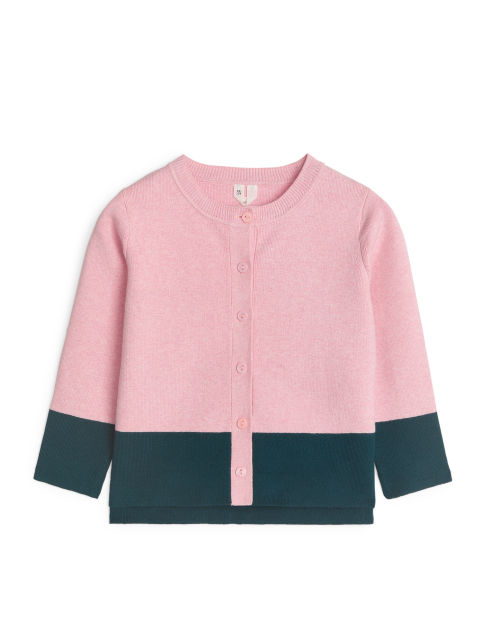 Colour Blocking Cardigan