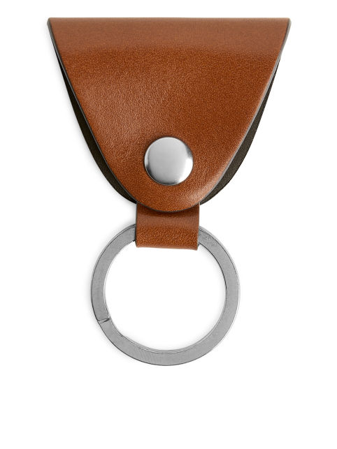 Leather Strap Keyring