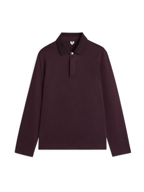 Heavyweight Polo Shirt Long-Sleeve