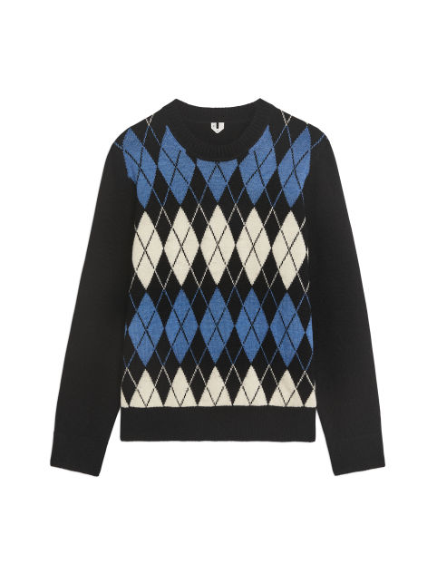 Argyle Wool Jumper