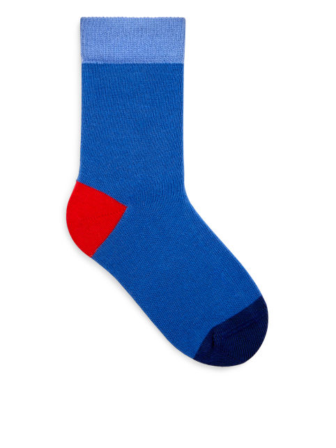 Colour Blocking Socks