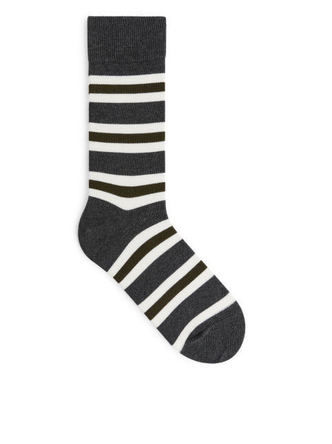 Supima Cotton Striped Socks