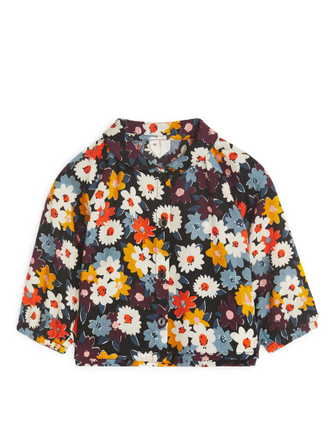 Floral Lyocell Blouse