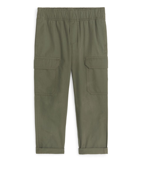 Utility Canvas Trousers