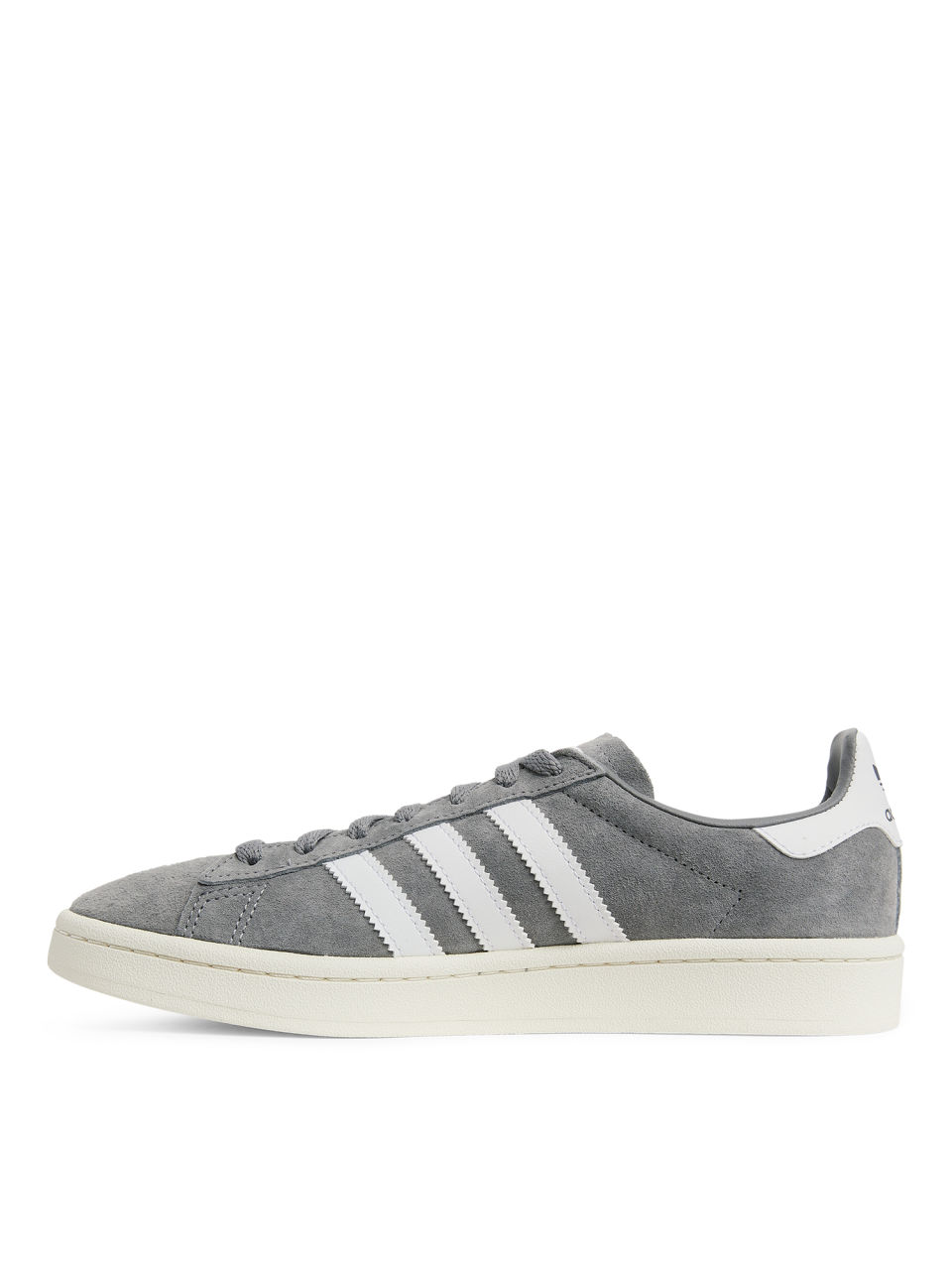 a77504538d7d Side image of Arket adidas campus trainers in grey ...