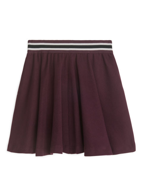 Cotton Jersey Skirt