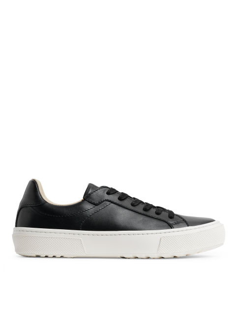 Leather Court Trainers